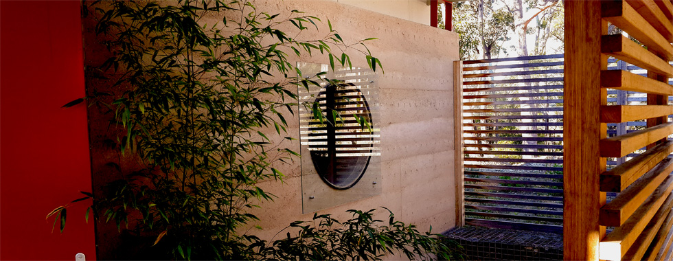 insulated rammed earth